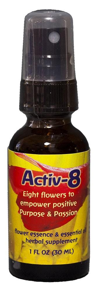 Activ-8 1 oz. Dosage spray bottle