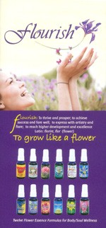 Flourish Flower Essence Formulas flyer