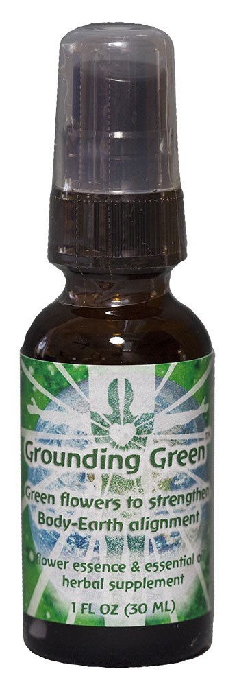 Grounding Green - 1 oz. Dosage spray bottle