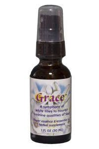 Grace 1 oz. Dosage spray bottle