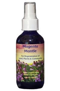 Magenta Mantle 4 oz. Spray bottle