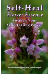 Self-Heal flower essence brochure