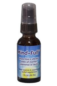 Mind-Full 1 oz. Dosage spray bottle