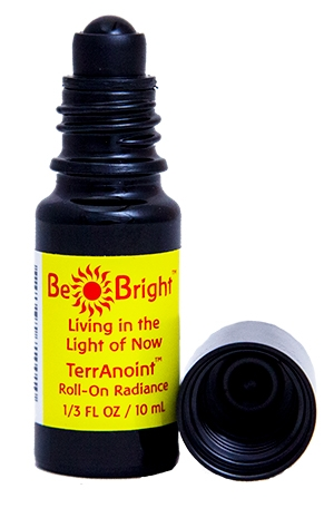 Be Bright Roll-On open