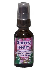 Sacred Heart 1 oz. Dosage spray bottle