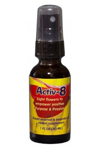 Activ-8 1 oz. Dosage spray bottle