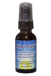 Mind-Full 1 oz. Dosage spray bottle