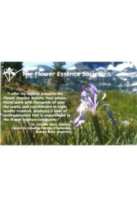 Flower Essence Society information & membership form